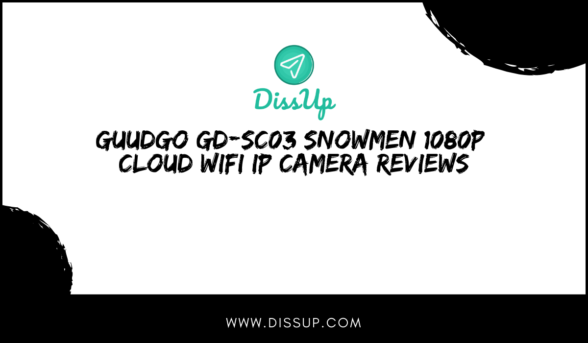 Guudgo GD-SC03 Snowmen 1080P Cloud WIFI IP Camera Reviews