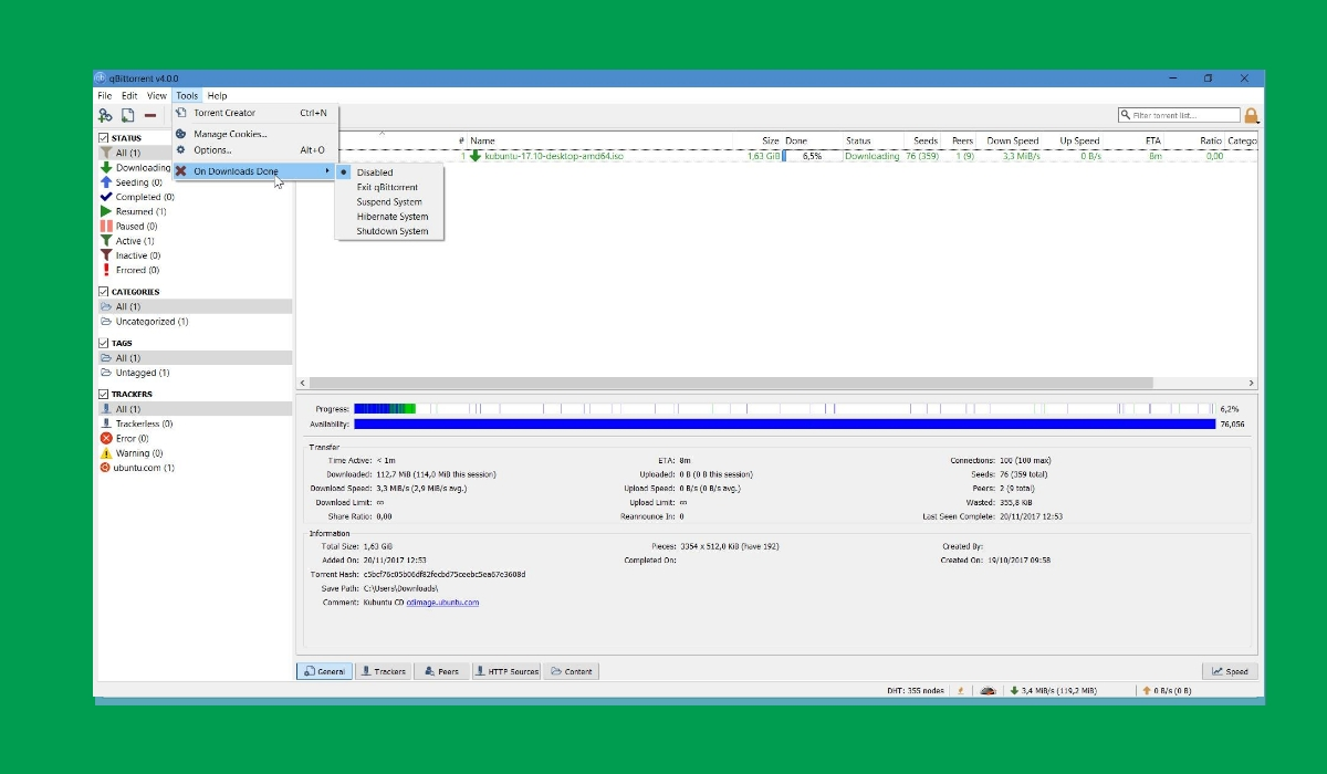 qbitTorrrent best torrent downloader