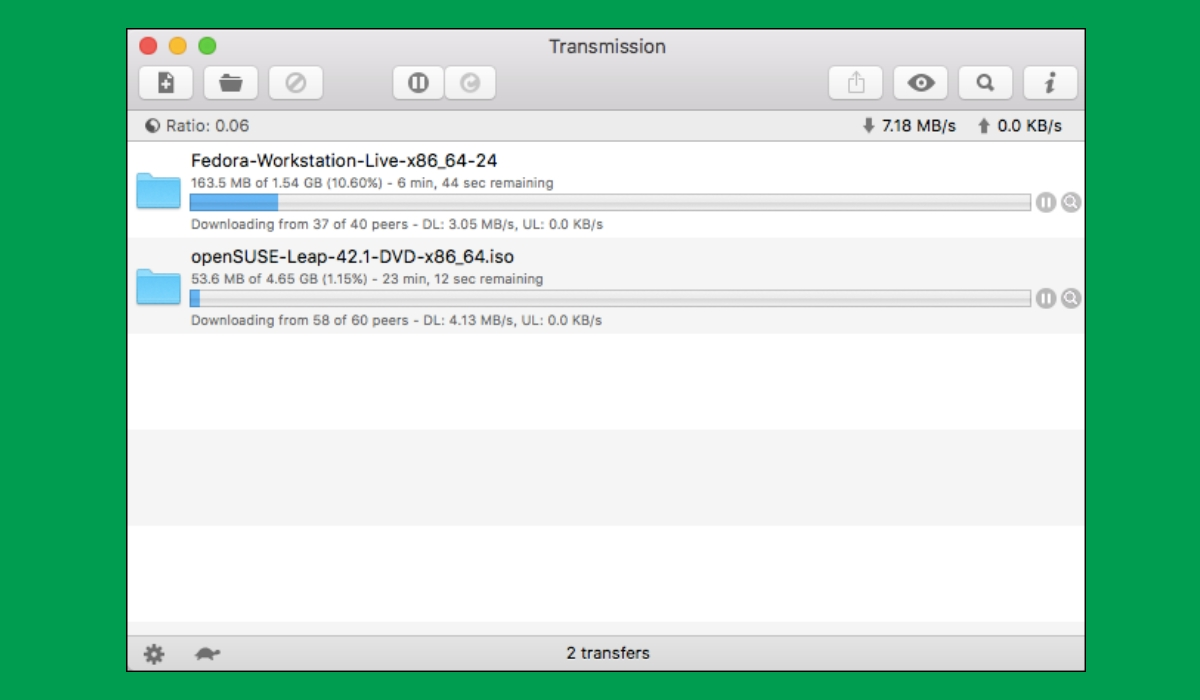 transmission best torrent downloader