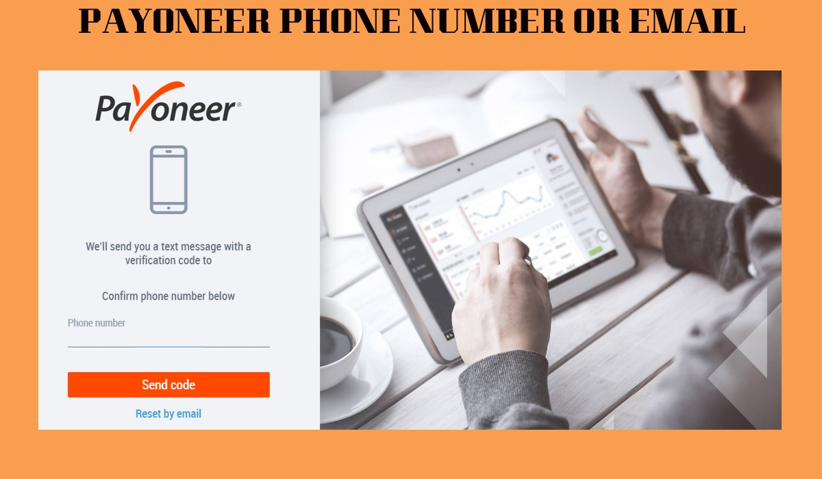 PAYONEER PHONE NUMBER OR EMAIL