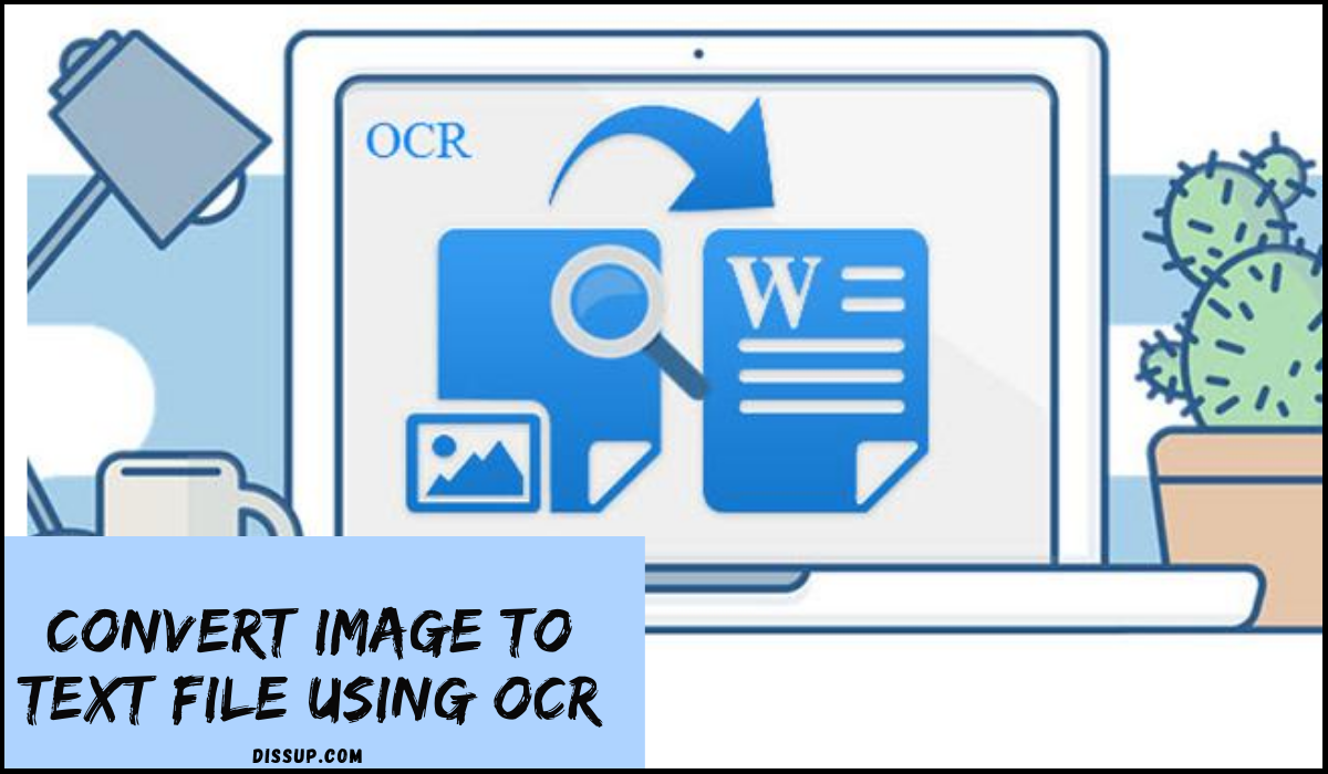 convert image to text file using ocr